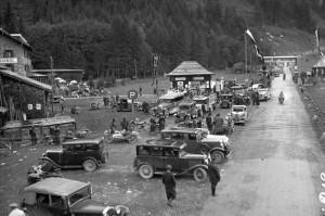 Ferleiten nach Rennen 1935